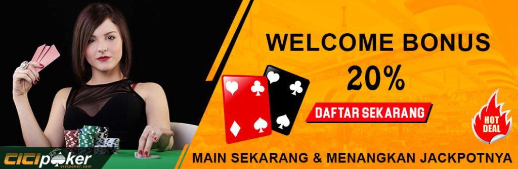 Bonus poker online uang asli